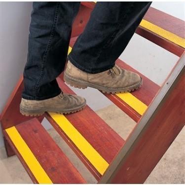 Ruban antidérapant escalier - Ruban Super Agrippant Jaune