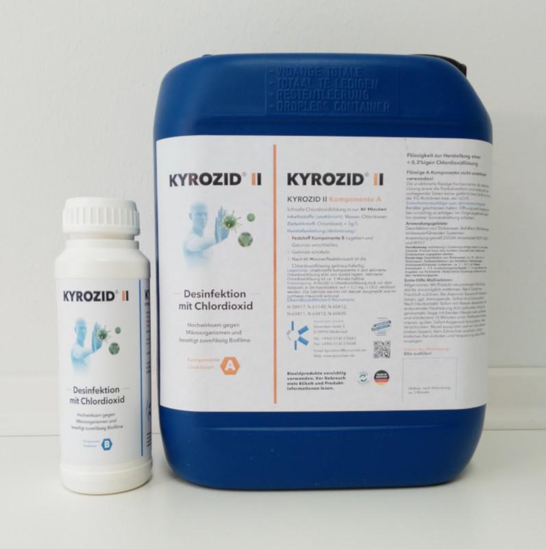 Kyrozid II - KYROZID II ist ein 2 – Komponenten Produkt zur raschen und einfachen Herstellen