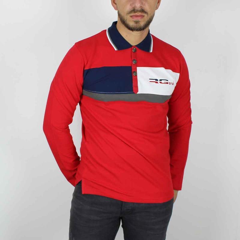 Grossiste sous licence de Polo manches longues RG512... - T-shirt et Polo manches longues