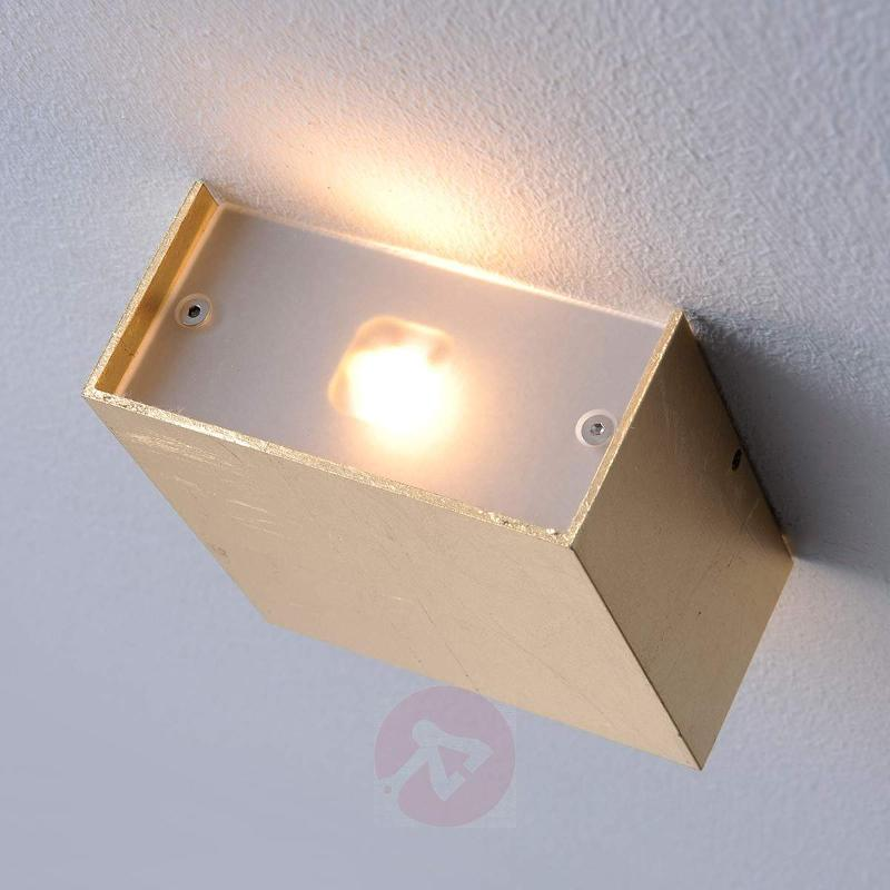 Square Mira LED wall light - Wall Lights
