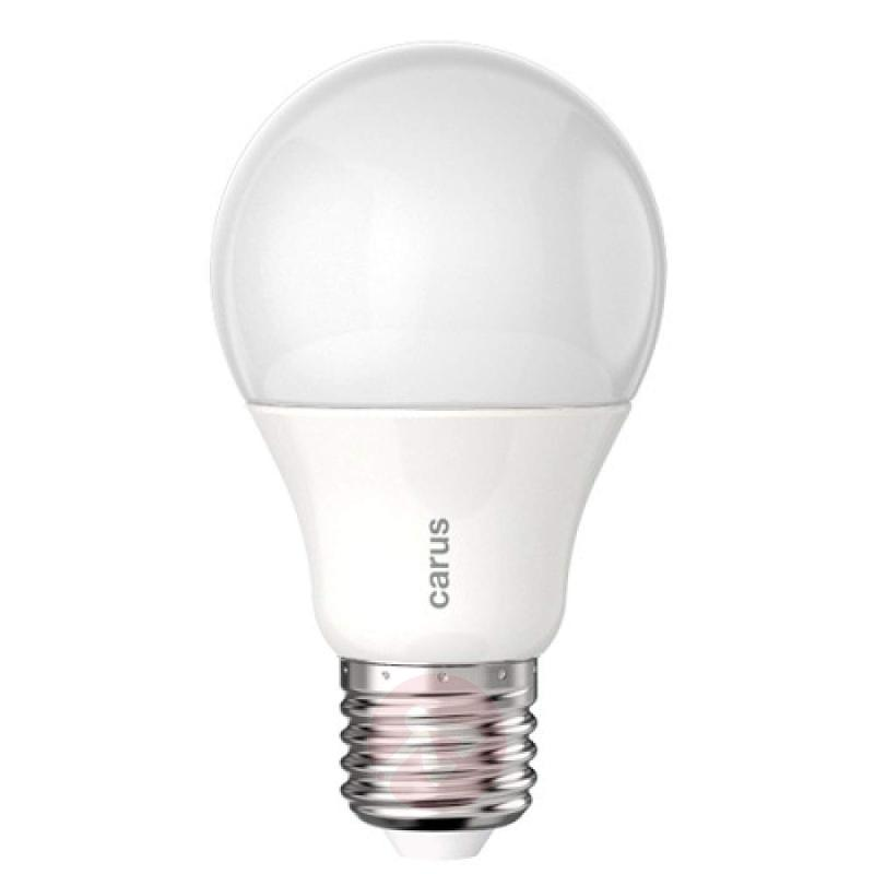 E27 7.5 W 827 LED bulb, matt - light-bulbs