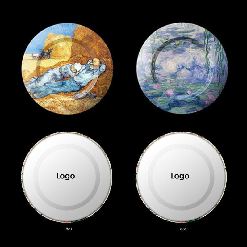 Art Metal plate