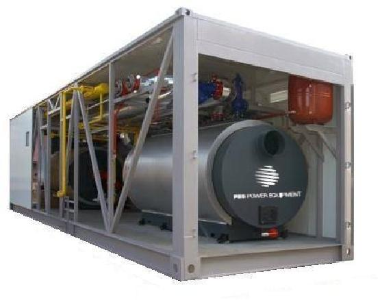 Containerized Boiler Room - fully equipped containerised boiler room 50 - 6500 kW
