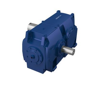 Hansen P4 Einstufig - Getriebe