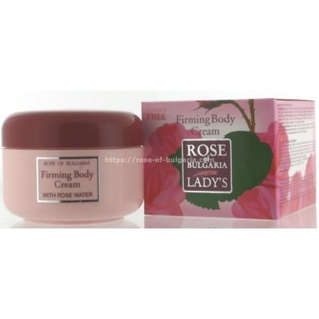 Crème rafermissante à l'eau de rose - Soin visage pour Femme