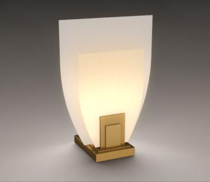 Art deco lamp - Model 160 KL