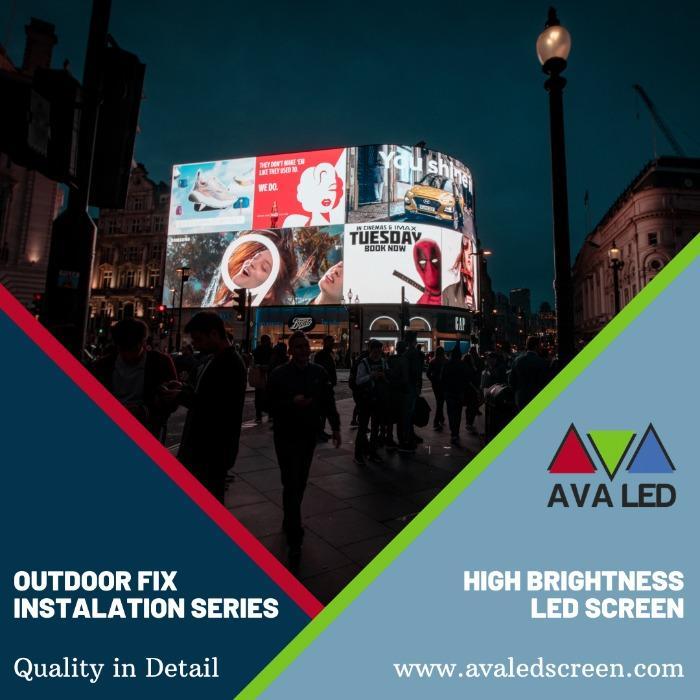 TN-OF-serien Vattentät LED-DISPLAY utomhus - Totem och affisch AVA Led Display
