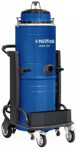 NILFISK ATTIX 115 & 125 - Aspirateurs eau et poussière monophasés