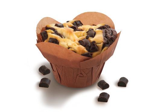 Yummy Muffin Chocolate-Cheesecake - American bakery