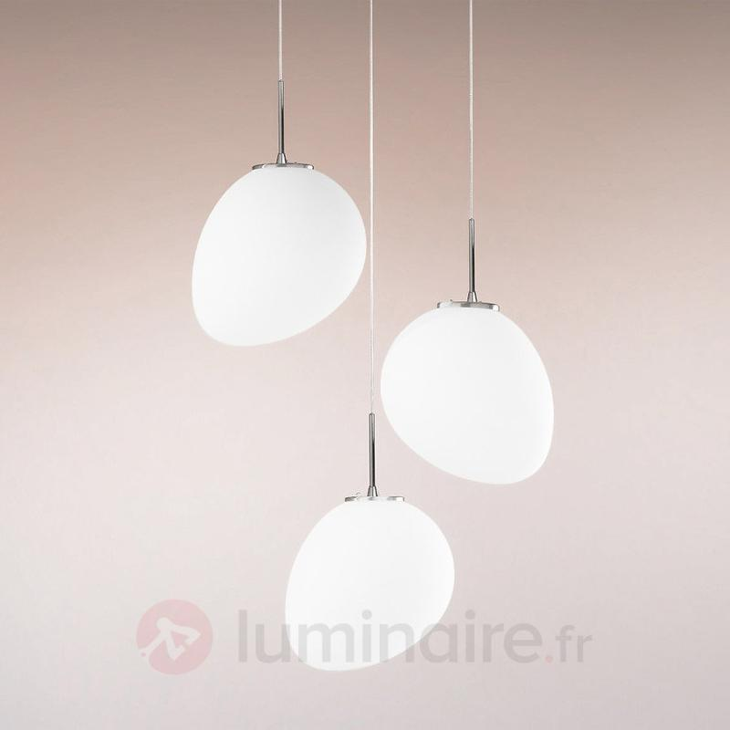 Suspension LED Evo à trois lampes - Suspensions LED