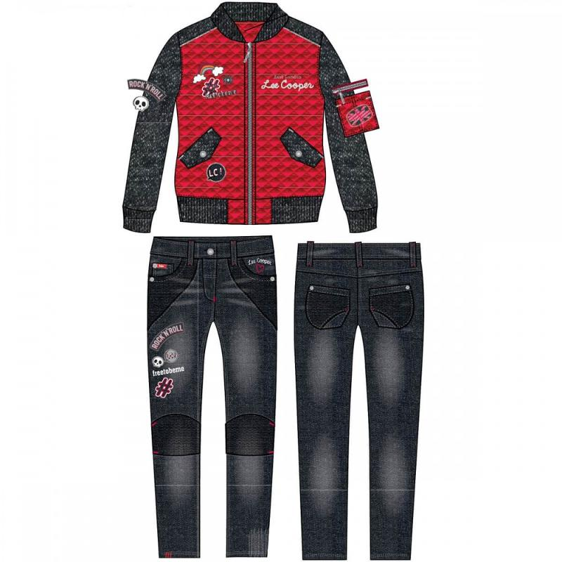 8x Ensembles 2 pieces Lee Cooper du 3 au 8 ans - Ensemble