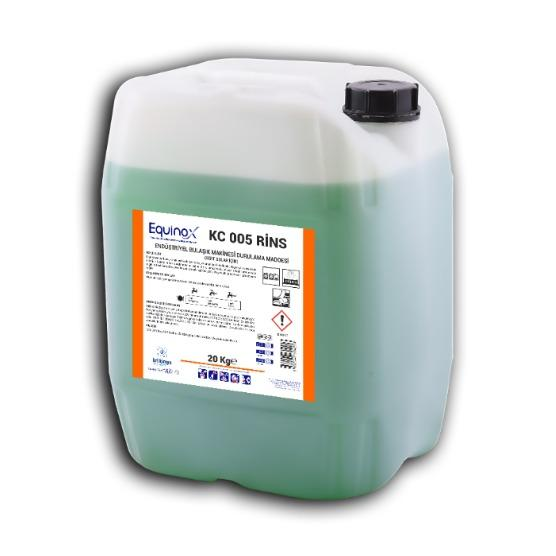 RINS - Industrial Dishwasher Rinse Aid - Suitable for hard water
