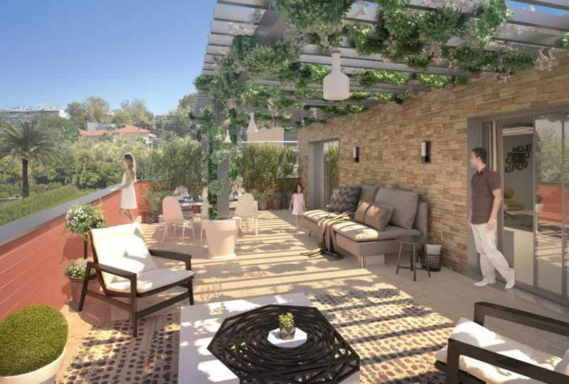 Luxury new apartments Juan les Pins in oasis of tranquility - Real Estate