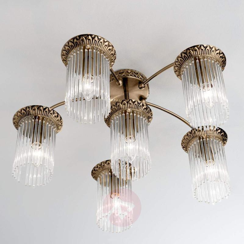 Exquisite ceiling lamp Diadema, 5-light - Ceiling Lights