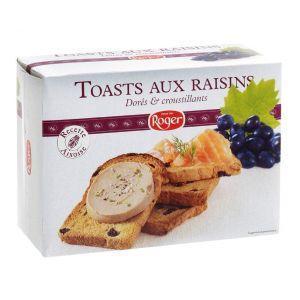 Toast au raisin