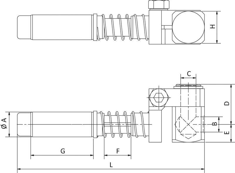 Saugarme für Vakuumsauger - gefedert, schwenkbar und... - null