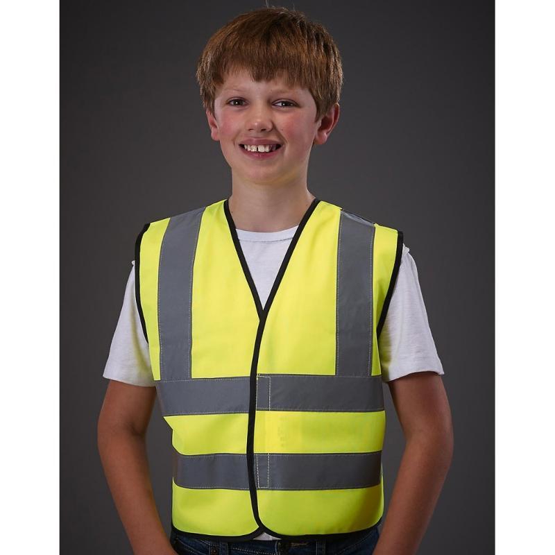Gilet de sécurité enfant sans manches - Vestes