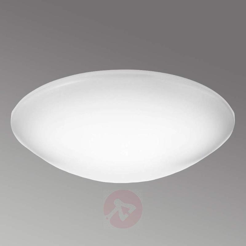 Large Suede LED ceiling light made from plastic - Ceiling Lights