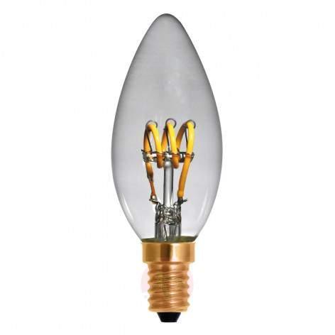 E27 4 W 922 LED rustic bulb Curved Line gold - light-bulbs