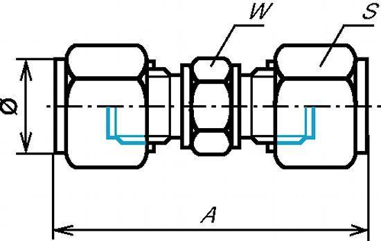 UNION ÉGALE INOX  - 316 (5451)