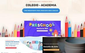 Renueva la Página web de tu Centro de Estudios - Página web para Centro de estudios, colegio, academia