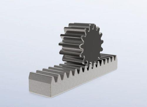 Customizable SPN rack-and-pinion drives