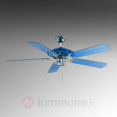Ventilateur de plafond LED Blue Angel bleu - Ventilateurs de plafond modernes