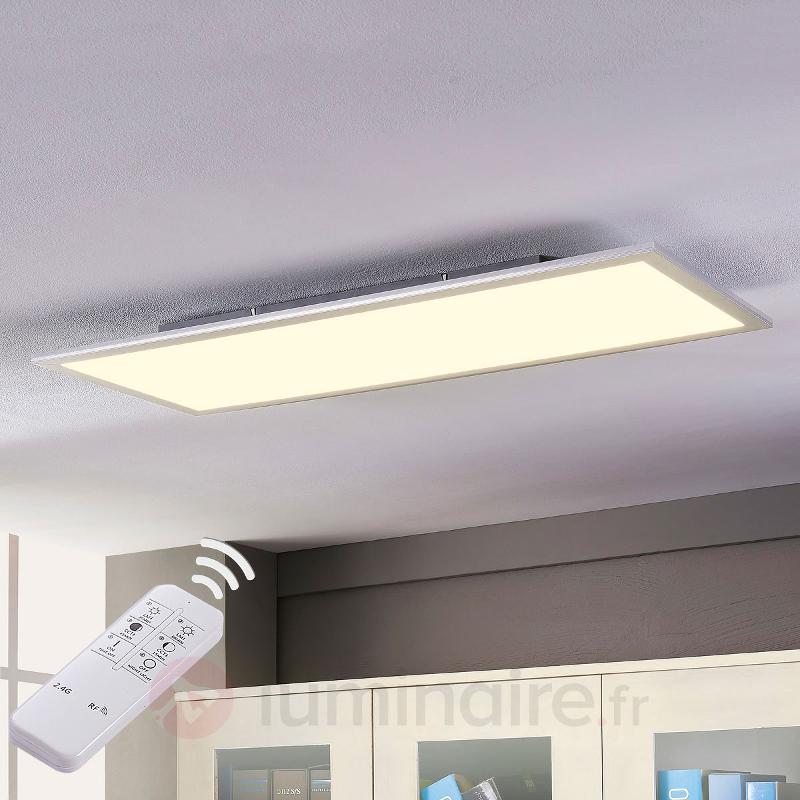 Panneau LED variable Liv avec télécommande - Plafonniers LED
