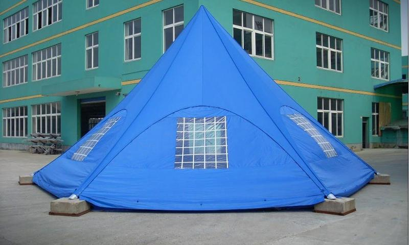 Tente étoile starZtent - StarZtent, tente étoile 100% personnalisable