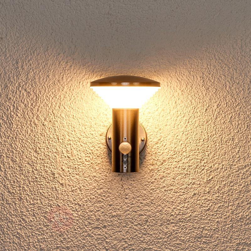 Applique avc détect. de mvnt Tiga pr ext., LED - Appliques d'extérieur avec détecteur