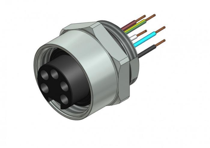 Panel mount connectors, circular connectors - Panel mount connectors, circular connectors