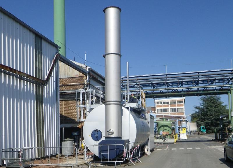 chaudières industrielles vapeur