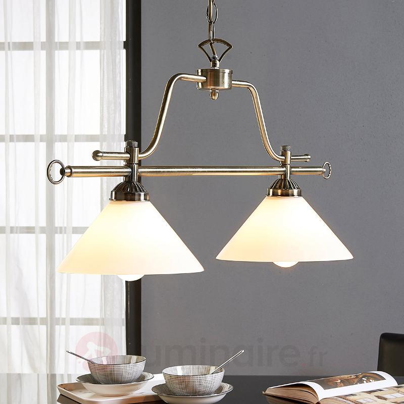 Suspension de salle à manger Otis, à 2 lampes - Cuisine et salle à manger