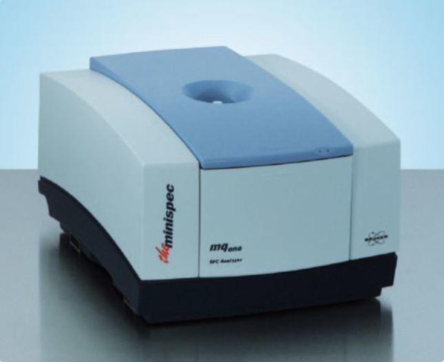 The minispec mq-one SFC Analyzer - null
