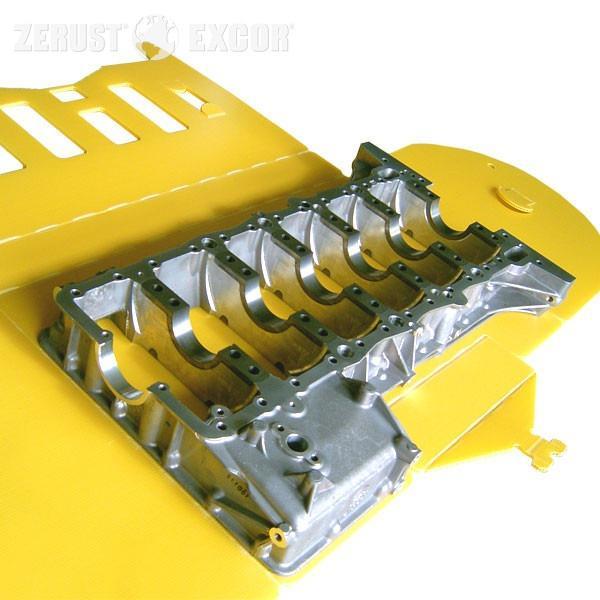 VCI-Pannelli alveolari VALENO - Imballaggio di plastica costruttivo con effetto di protezione dalla corrosione