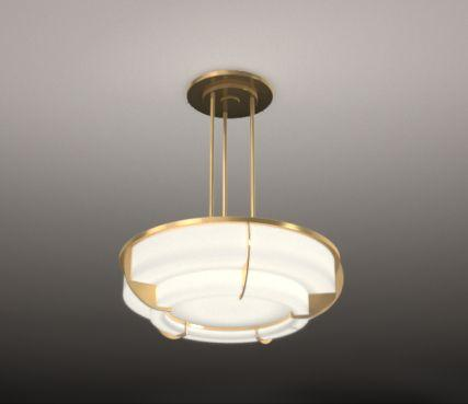 1930 s hanging ceiling light - Model 354 bis S