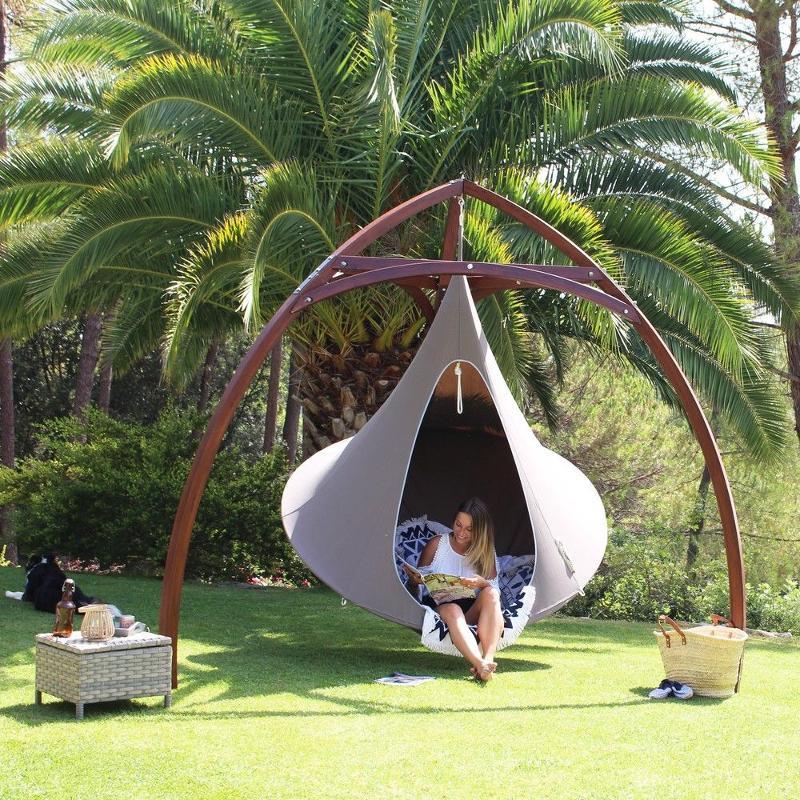 Cacoon + Structure en bois - OUTDOOR