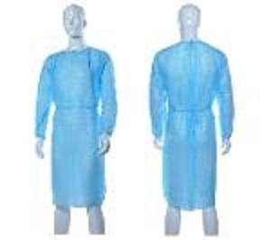 Vestidos desechables de aislamiento de spp / batas de hospit -