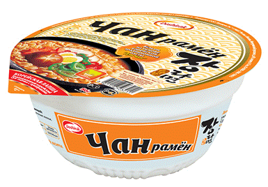 Jang ramyun bowl type - ★ 2 product line-up - beef, chicken