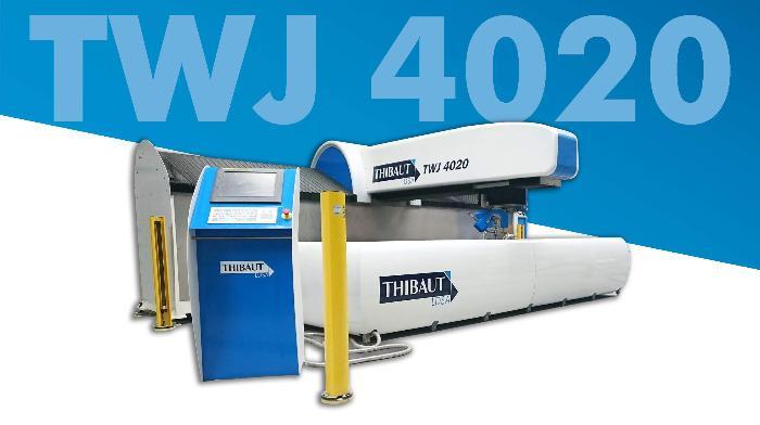 TWJ 4020 - Machine découpe jet d'eau Thibaut TWJ 4020 3 & 5 axes