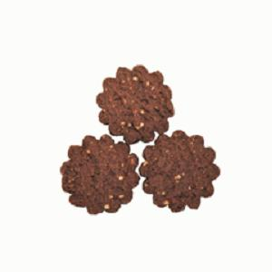 Biscottini Vegan con Cacao e Mandorle - Fragranti biscotti senza glutine, uova, latte e derivati (vegan)