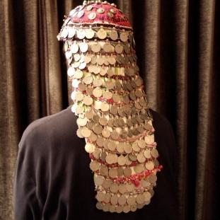 Ornements - Passementerie, argent , monnaies anciennes, Afghanistan