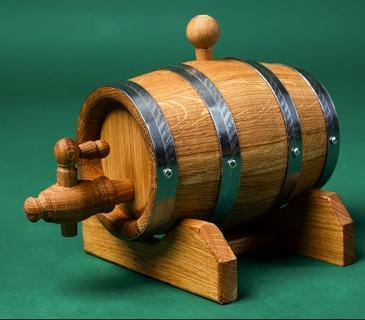 Fût en Bois de Chêne 1 -3 -5  ou 10L - Tonneau en Chêne pour consevation vins ou alcools