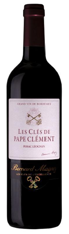Pessac Leognan wine AOC - Les clés de pape Clément