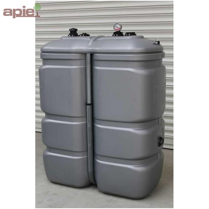Cuve 1000 L pour le stockage d'huiles  - Cuves HUILES / GAMME CFPE (INTÉGRALE)