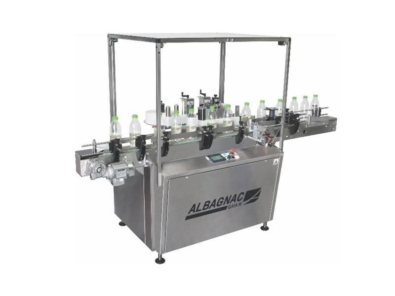 Etiketteermachine voor ronde producten en andere vormen: GAIA III PRO - Automatische etiketteermachines