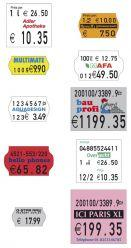 Labels - Standard price and basic price marking