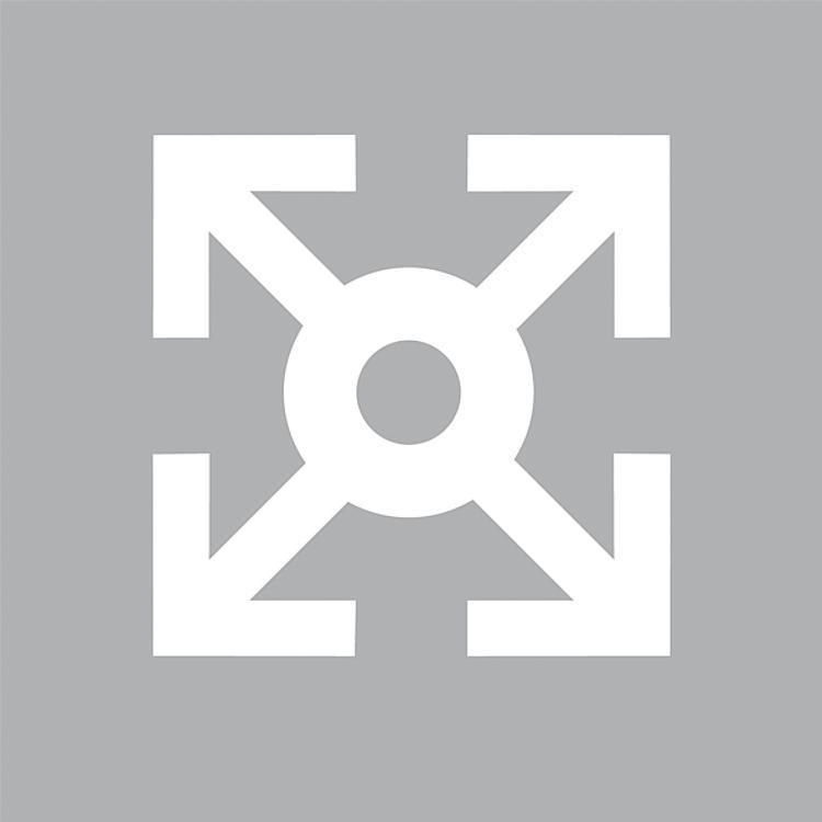Cerniere in plastica, amovibili, sx - K0434