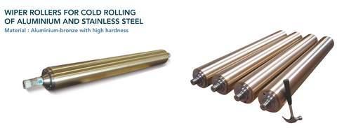 Composants pour l'industrie sidérurgique - Pièces centrifugées pour processus de coulée continue et laminoirs