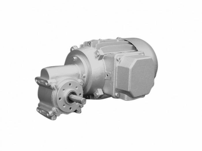 SN18 - Einstufiger Getriebemotor mit Ausgangswelle